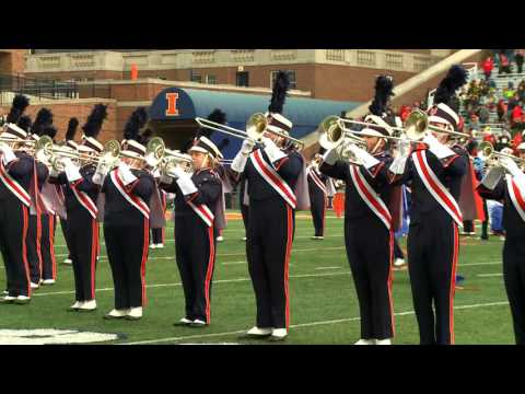 Marching Illini Halftime Show: Senior Highlights | November 19, 2016