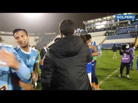 Download Copa Bicentenario: Así celebró Sporting Cristal tras el pitazo final en el Alejandro Villanueva