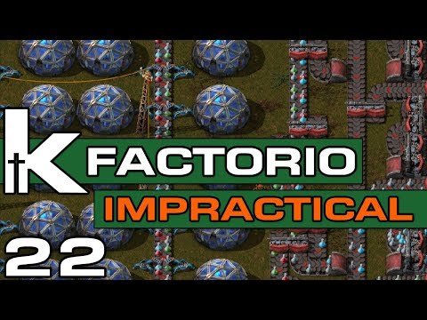 Factorio 0 17 | Impractical Ep 22 | Sushi Science| Let's