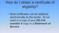 How Do I Obtain a Certificate of Eligibility?