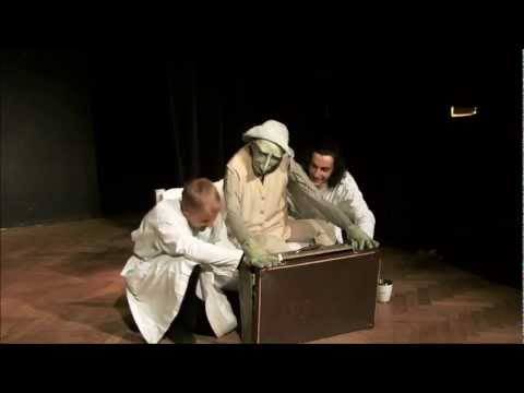 Puppetry in Poland - exam in Theatre Academy in Białystok - paramedics
