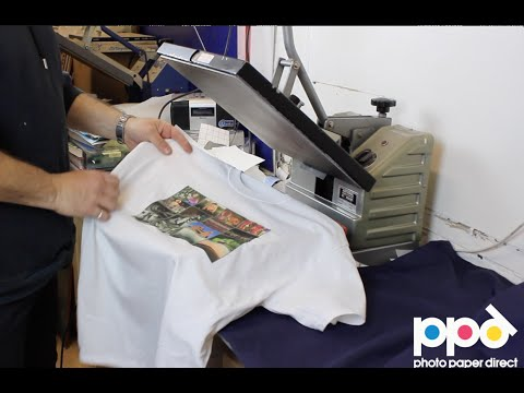 Start Your Own T Shirt Printing Business Using Heat Press Tr