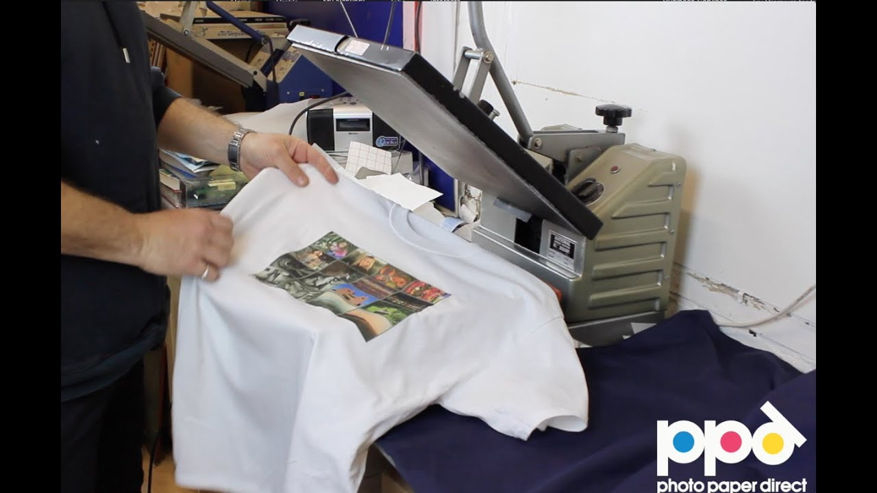Start your own t shirt printing business using heat press for Print photo on shirt