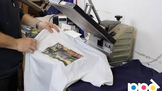 Start Your Own T Shirt Printing Business Using Heat Press Transfer Paper thumbnail