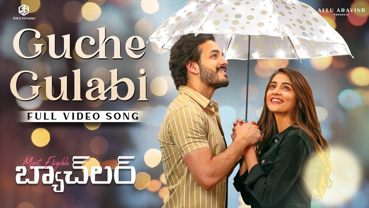 Guche Gulabi Full Video Song   Akhil, PoojaHegde   ArmaanMalik   GopiSundar   Most Eligible Bachelor