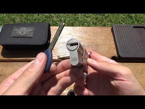 Взлом отмычками SuperLock   (51) Picking - SuperLock mit Pins und Slidern ()
