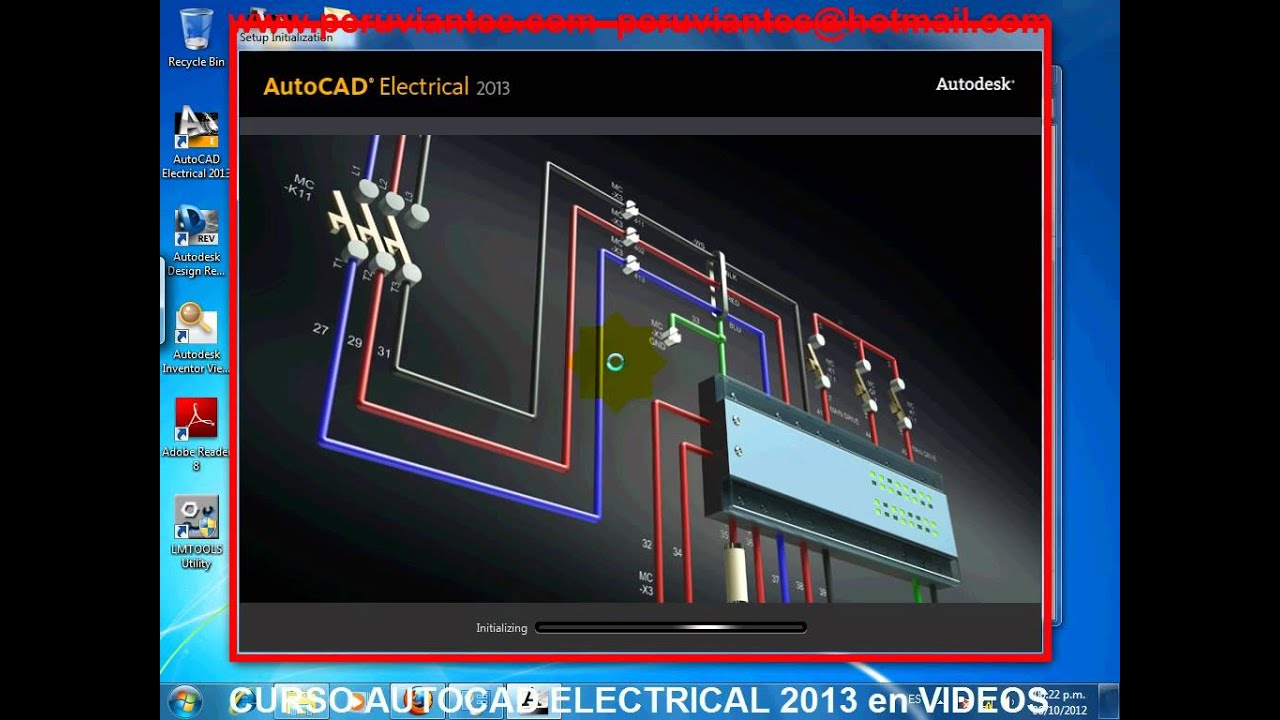 autocad electrical espa ol curso 2013 video tutorial espa ol rh youtube com Electrical AutoCAD LT autocad electrical 2013 manual pdf español