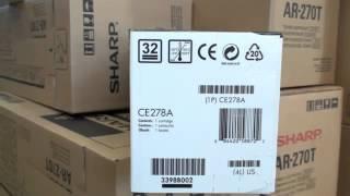 HP Toner Cartridge CE278A black - 78A410