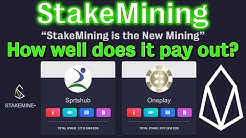 "🔵 What is ""StakeMining"" on EOS? Is it worth it?"