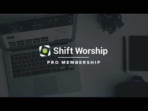 Shift Worship Pro Membership