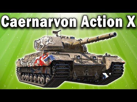 Caernarvon AX 🌿 Стоит ли покупать этот прем танк в World Of Tanks за золото на черном рынке 2020