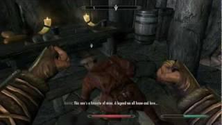 The Elder Scrolls V Skyrim | Random Gameplay #3 | Commentary | Effing Douche Bag Orthus Endario