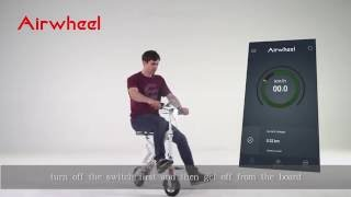 Airwheel E6 electric bike, teach you how to install it and use it