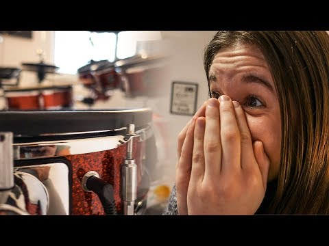 Girlfriend getting a new Drum Kit!