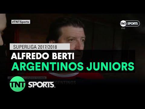 """Alfredo Berti DT Argentinos Jrs: """"Mi comportamiento fue desmedido"""""""