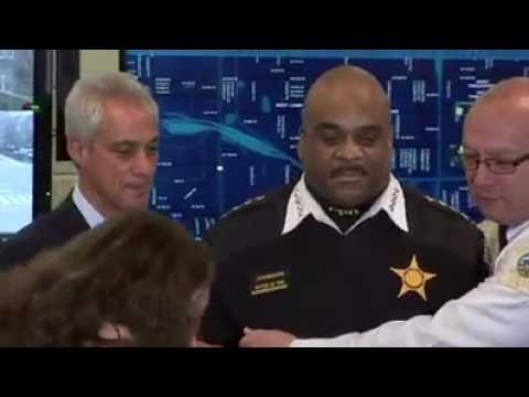 CHICAGO POLICE SUPERINTENDENT PASSES OUT DURING PRESS CONFERENCE @LiLeFilms