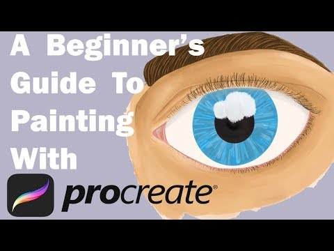 How to Paint in Procreate – A Digital Painting Tutorial for Beginners