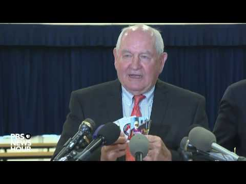 Agriculture Secretary Sonny Purdue on new relaxed standards for school lunch