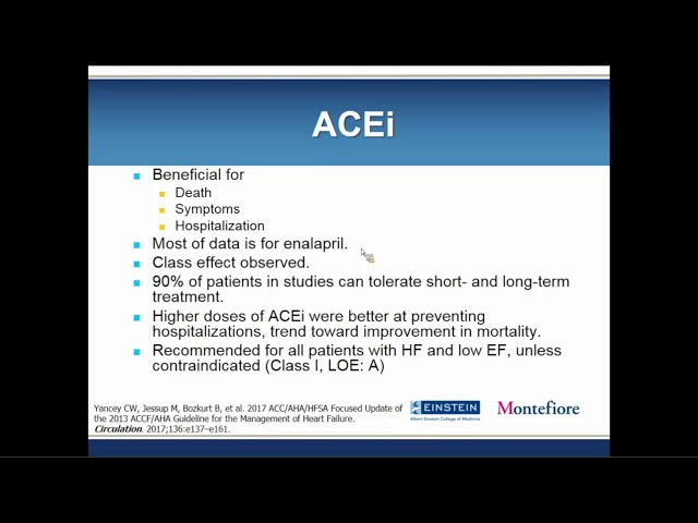 Outpatient Management of CHF in 2019: Beyond ACE Inhibition