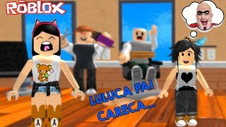 Roblox - FUGINDO DO CABELEIREIRO MALUCO (Escape the Evil Barber) | Luluca Games