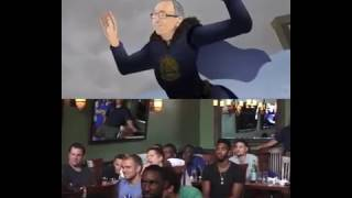 Golden State Warriors Players Reacting to
