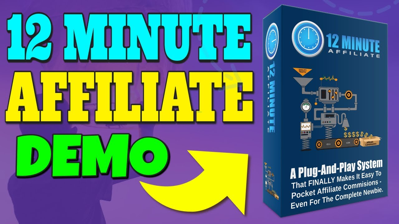 12 Minute Affiliate Review Bonus   Demo  12 Minute Affiliate Review Bonus   Demo