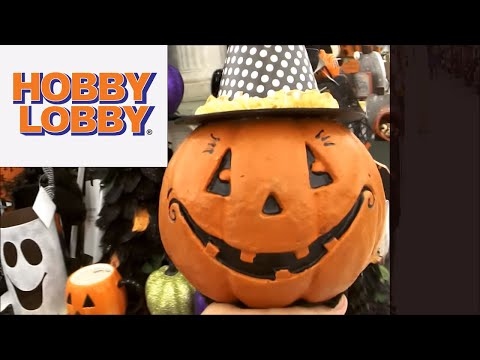 Hobby Lobby Shop with Me! Home & Halloween Decor!