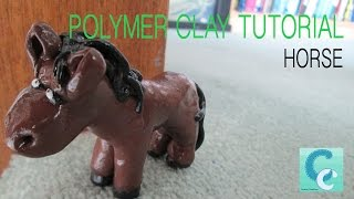 Horse - Polymer Clay Tutorial