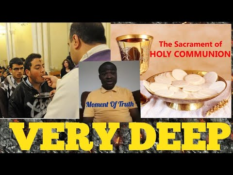 Holy Communion Creating Confusion in our Homes. (See details) - Evangelist Addai