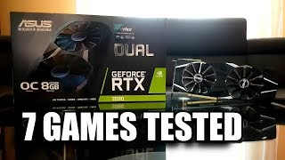 ASUS DUAL RTX 2080 & i7 6700k in 7 Games Tested | 1080p - 1440p & 2160p | FRAME-RATE TEST COMPARISON