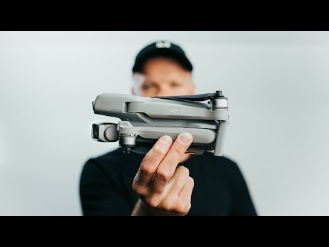 New 5.4k ALL-IN-ONE Tiny Cinematic Drone // DJI AIR 2S