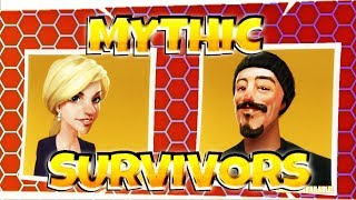 Fortnite PvE : Mythic Survivors ~ How to Get Joel & Karolina | StW