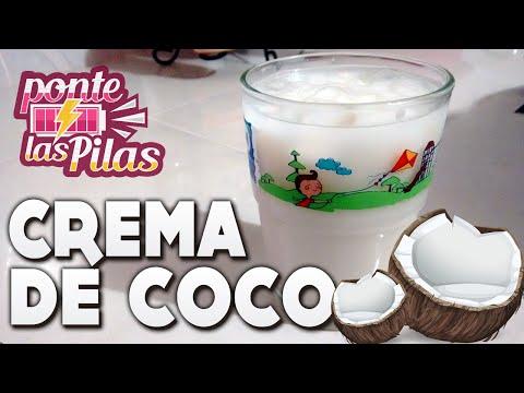 Como preparar una rica crema de coco - Ponte las pilas