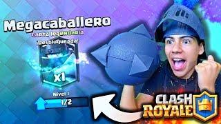 """¡GANO la NUEVA LEGENDARIA """"El MEGACABALLERO"""" en Clash Royale! - [ANTRAX] ☣"""