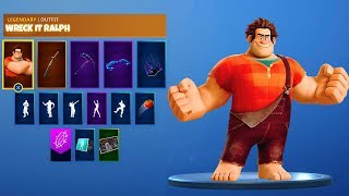 *NEW* WRECK IT RALPH SKIN in Fortnite Battle Royale! (Wreck it Ralph SKIN, LTM, & MORE)