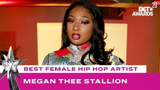 Megan Thee Stallion Accepts The Award For Best Female Hip Hop Artist | BET Awards 20