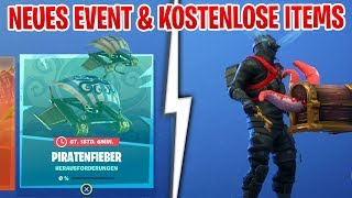 😱 FREE ITEMS... the NEW Fortnite Event PIRATENFIBER is here!