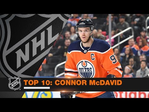 Top 10 Connor McDavid plays from 2017-18