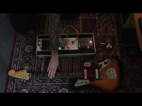 Metal strings • guitar and modular synth