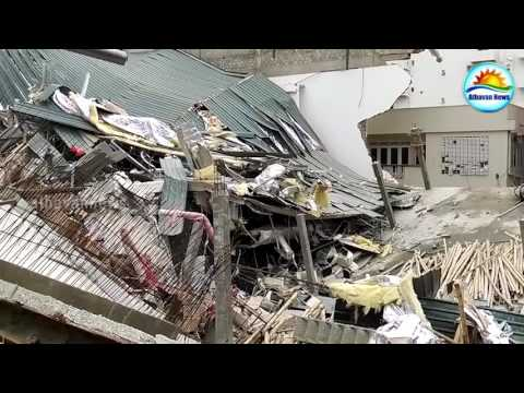 BUILDING COLLAPSES IN COLOMBO, WELLAWATTE