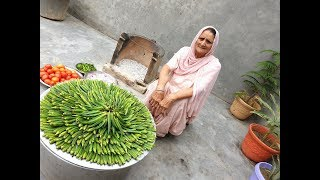 Okra Masala Curry ❤ Masala Bhindi | Healthy Village Food by Grandma | Veg Village Food | Recipe