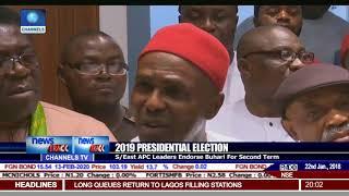 2019: South East APC Leaders Endorse Buhari For Second Term
