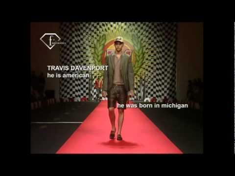 fashiontv | FTV.com - JONATHAN HUBERT + TRAVIS DAVENPORT - MODELS UOMO 2008 P/E