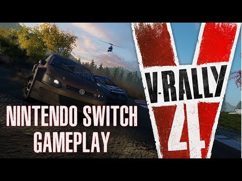 V-Rally 4 - Nintendo Switch Gameplay