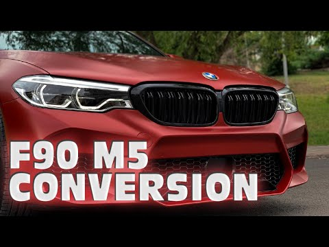 BMW G30-F90 M5 DÖNÜŞÜMÜ!!! (SATIN VAMPIRE RED)