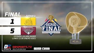 Resumen Águilas Cibaeñas vs Gigantes del Cibao   11 ENE 2021   Serie Final Lidom