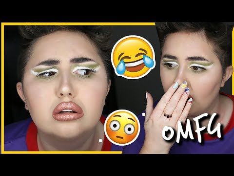 MAKEUP I WOULD NEVER WEAR OUT CHALLENGE!!!
