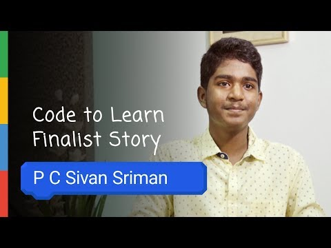 Google Code To Learn - Finalist Story PC Sivan Sriman