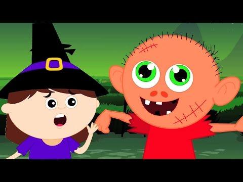 Хэллоуина Ночь | Страшные детского стишка для детей | Хэллоуин песни | Halloween Night | Scary Rhyme
