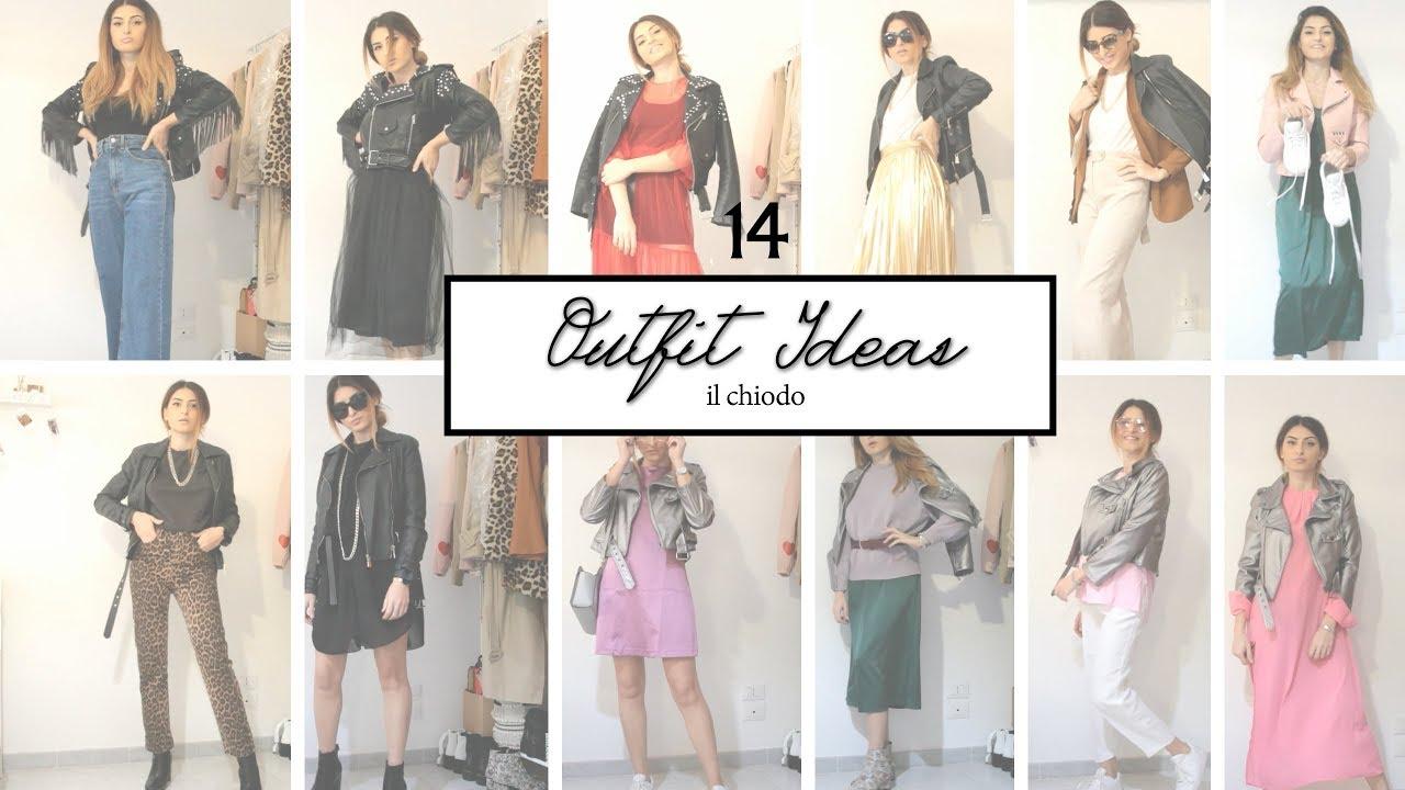 Spring #Outfit Ideas | Il CHIODO 14 Idee di outfit casual | con tutti i brand 4